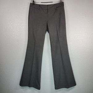 New York & Co. Stretch gray career trousers sz: 10